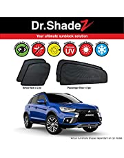 DR SHADEZ Customised Fit Sunshades for Mitsubishi ASX Year 2010 2012 2013 2014 2015 2016 2017 2018 2019 4 Pieces Magnetic Sunshades Reduce Heat UV Ray in Car Privacy