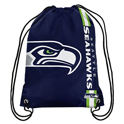NFL Seattle Seahawks Big Logo Drawstring Backpack -