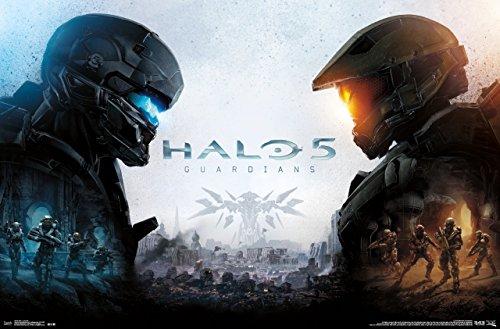 Trends International Halo 5 Guardians Key Art Wall Poster