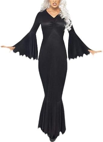 BingSai - Disfraz de Sirena para Mujer, Cuello en V, Manga Tipo ...