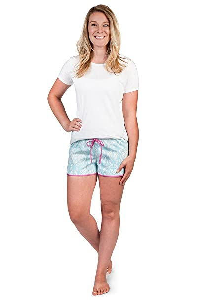 4674ff04e3 Sea Crest Women s Pajama Shorts at Amazon Women s Clothing store