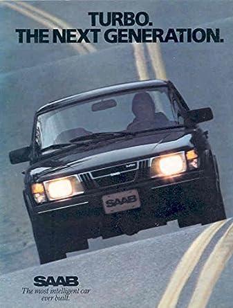 1982 Saab 900 APC Turbocharger Sales Brochure