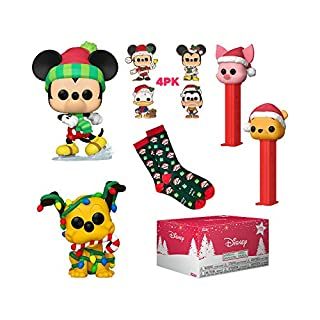 Funko Pop! Disney Holiday Collectors Box - with 2 Pop! Vinyl Figures, Amazon Exclusive (51427)
