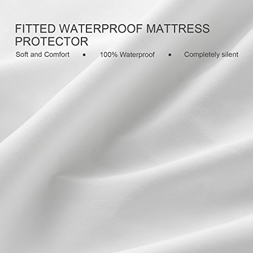LazyCat Waterproof Anti-allergy Mattress Protector Cal King Size from LazyCat