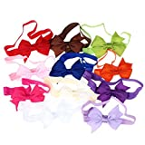 Misaky 11PC Children Baby Girl Elastic Headband Bowknot Photography Headbands