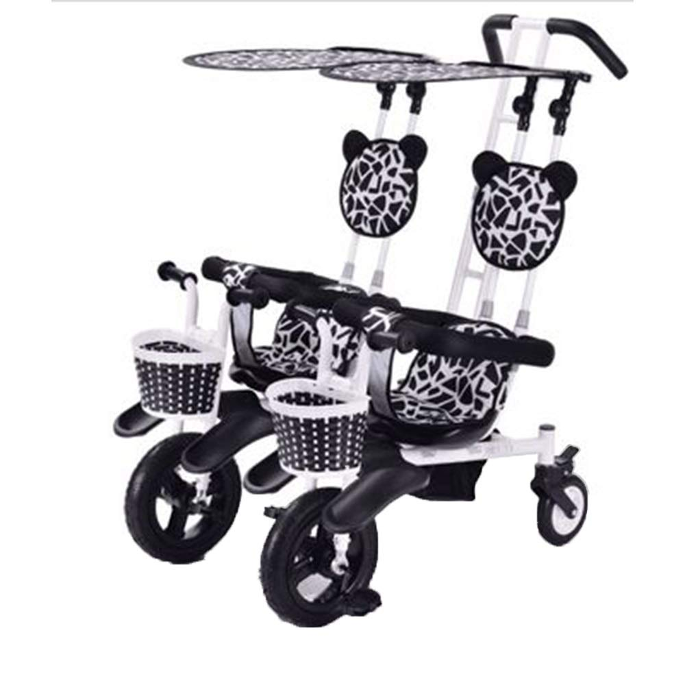 Triciclo YUMEIGE gemelar en paralelo