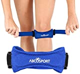 Patella Knee Strap for Knee Pain Relief for Hiking - Soccer - Basketball - Volleyball & Squats (1 Piece)
