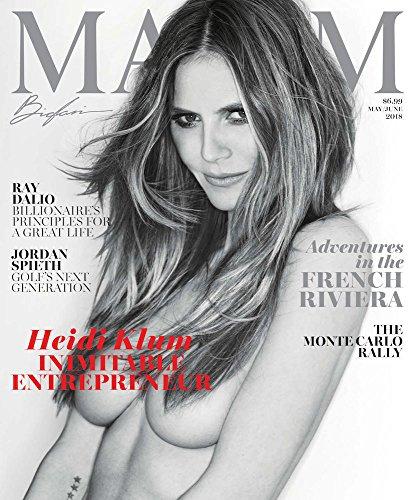 Maxim Magazine (May/June, 2018) Heidi Klum Cover