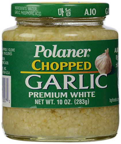 Polaner Premium White Chopped Garlic, 10 Ounce ()
