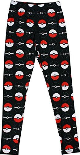 (Pokemon Pokeball Womens Spandex Leggings,)