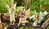 Cheap Miniature Fairy Garden Classic Fairies – Music Fairies – Set of 3