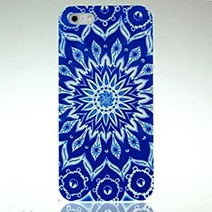 DUR ManDURa Blue Circle Pattern Case for iPhone 5/5S