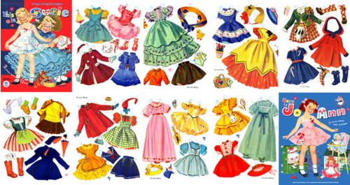 This is Susie & This is JoAnn, Restored 50s Paper Doll ebook