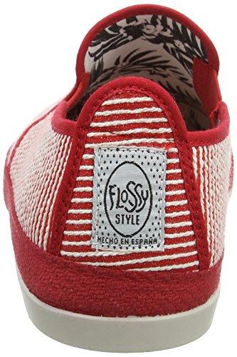 Uomo Flossy Espadrillas Grigio 001 Red Brieva wgU8zEq4
