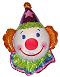 CLOWN (JUGGLES) 25'' ANTI-GRAVITY FLOATING TOY - Amazing STRING-LESS HOVERING ZERO-G Balloon, Flying Circus Carnival Birthday Party Favor