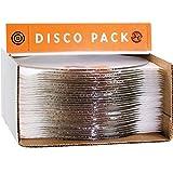 Bullseye Disco 30 Piece Pack 9'' Clear Circles - 90 COE