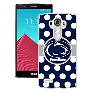 Grace Protactive Ncaa Big Ten Conference Football Penn State Nittany Lions 13 White Case Cover for LG G4