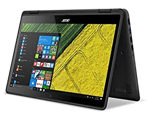 Acer Aspire R 15 - Ordenador portátil convertible de 13.3'' Full HD (Intel Core i3, 4 GB de RAM, 128 GB SSD, UMA, Windows 10), negro
