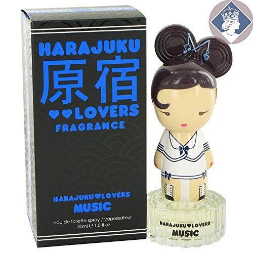HARAJUKU LOVERS MUSIC by Gwen Stefani EDT SPRAY 1 OZ