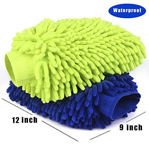Car Wash Mitt 2 Pack