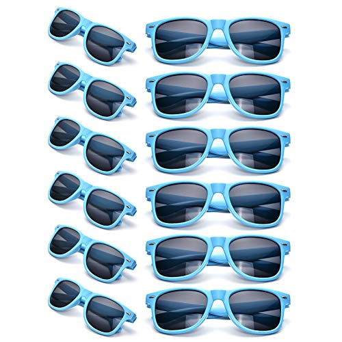 12 Packs Wholesales Neon Party Favor Sunglasses Accessories for Adults]()