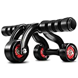 Nutrilite Abdomen Round Abs Wheel Push-ups Wheel Use Exercise Equipment at Home/Pull The Rope Tension Band (Single wheel)