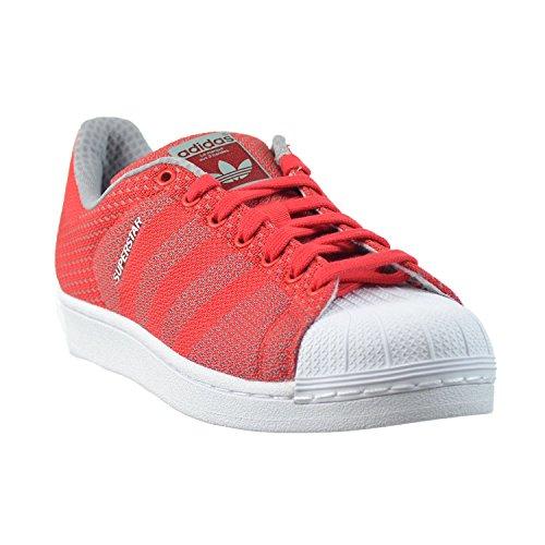 Adidas Superstar Väva Pack Mens Skor Tomat / Vit S77929 (11,5 M Oss)