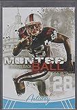 2013 Sage Hit Montee Ball Broncos Artistry Football Card #ART-1