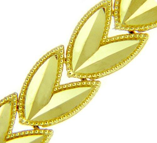 Petits Merveilles D'amour - 14 ct Or Jaune Bracelet - Tulpe Bracelet