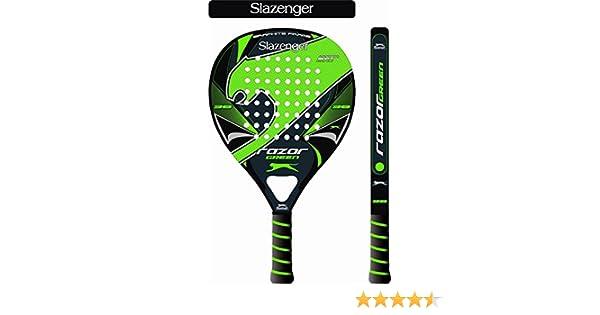 Slazenger Razor Green Pala, Unisex, Verde/Negro, 38 mm: Amazon.es ...