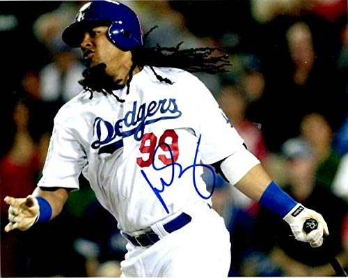 Autographed Signed Manny Ramirez 8x10 Los Angeles Dodgers Photo - Certified -