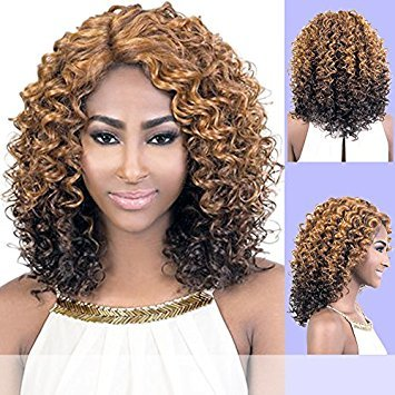 - LXP. KAY (Motown Tress) - Heat Resistant Fiber Lace Part Wig in 1B