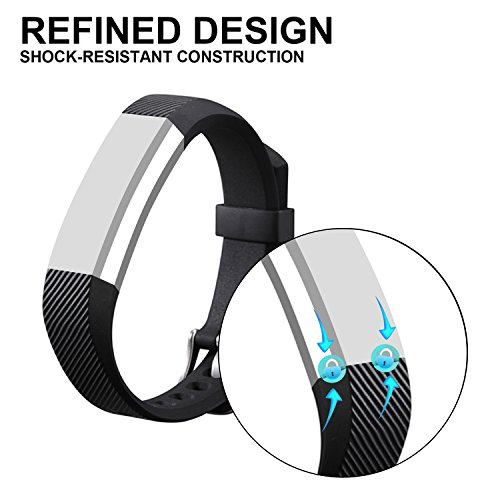 For Fitbit Alta HR and Alta Bands, I-SMILE Colorful Adjustable Replacement Wristband for Fitbit Alta HR/ Fitbit Alta Bands(No tracker, Replacement Only