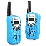 Walkie Talkies Walky Talky Easy To Use 2-Way Radio 3-5km Range Toys for Kids Boys Blue