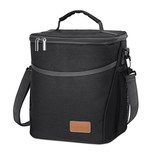 Lifewit 9l 12 Cans Insulated Picnic Lunch Bag With Bottle