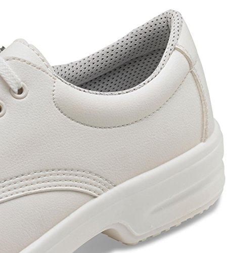 Shoe Work Fibre White Tie Micro ClickFootwear qzBcwUZw