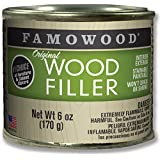 FAMOWOOD Original Wood Filler - Cedar -  1/4 Pint Net Wt 6oz(170g)