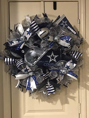 Dallas Cowboys Wreath (Dallas Cowboy Wreath)