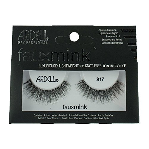 Ardell Black Faux Mink Strip Lashes 817
