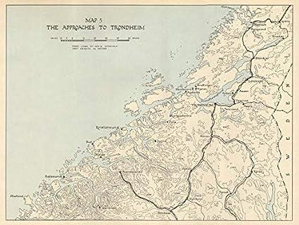 Amazon.com: World War 2 Norway Campaign. Trondheim ...