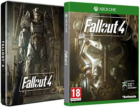 Fallout 4 + Steelbook - Esclusiva Amazon [Importación Italiana ...