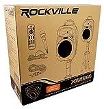 "Rockville RPG082K Dual 8"" Powered PA System"