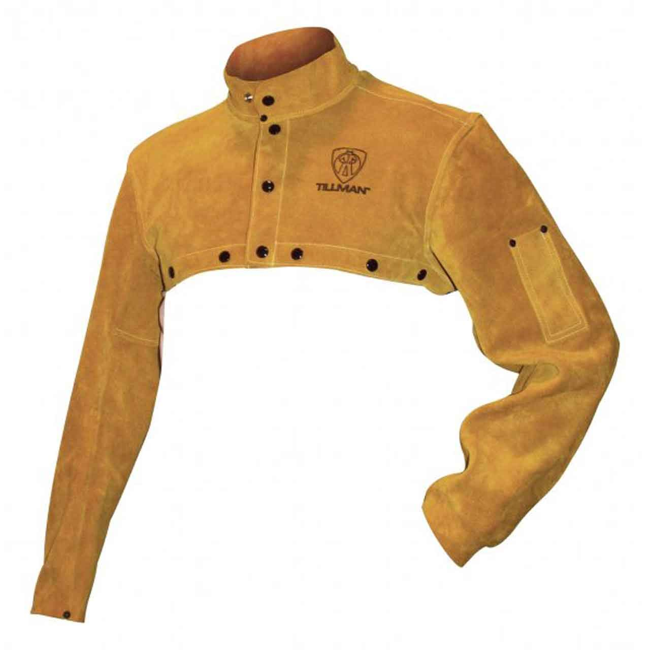 Tillman Bourbon brown Medium Leather/Kevlar Cape Sleeve - TIL3221M [PRICE is per EACH]