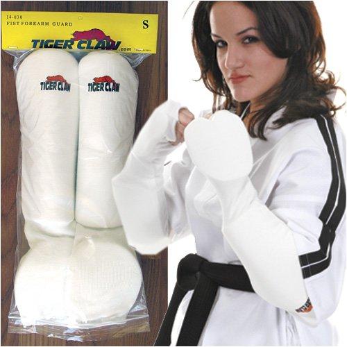Fist Guard - Tiger Claw Cloth Fist Forearm Guard - Child Small