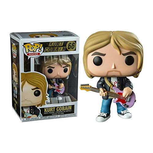 Funko Pop! Rocks: Kurt Cobain Nirvana - MTV's Live and Loud 1993 Limited Edition Vinyl Figure # 66 - Hot Topic Exclusive
