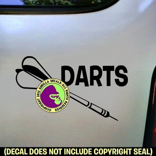 (DARTS Vinyl Decal Sticker B)