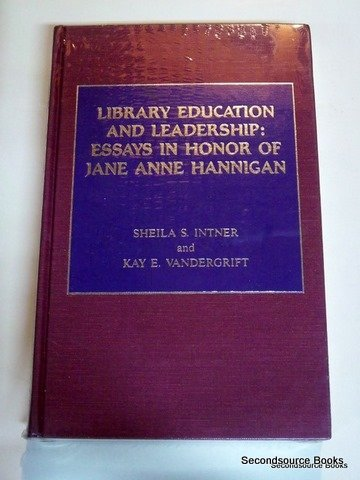 Library Education and Leadership by Brand: Scarecrow Press