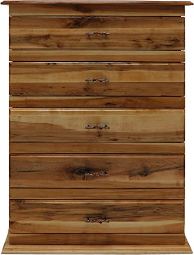 Mountain Woods Furniture Mossy Oak Nativ Living Mountain Maple Collection 5 Drawer Chest