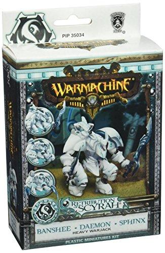 Privateer Press Warmachine - Retribution of Scyrah - Banshee Daemon Sphinx Warjack Model Kit