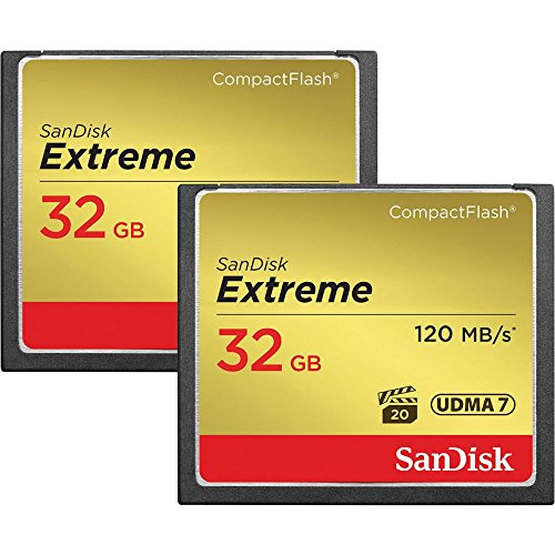SanDisk Extreme CompactFlash Memory 2 Pack